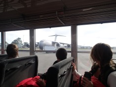 C-17 flight down.