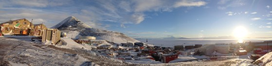 View of McMurdo from the carp shop.