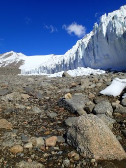 Dry Valleys glacier.