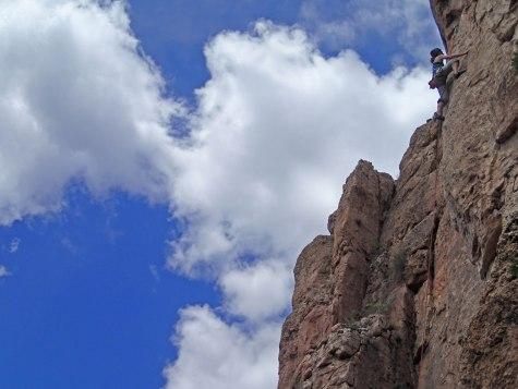 Climbing Colorado.