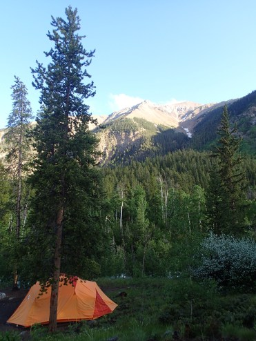 We've had some pretty sweet camping spots