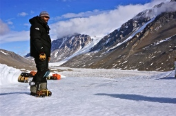 Dave in the Dry Valleys