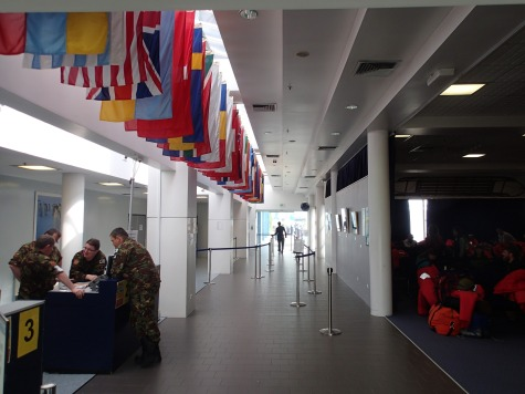 The CDC (Clothing Distribution Center) in New Zealand.