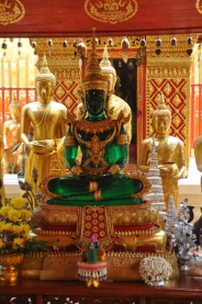 Jade Buddha at Doi Suthep, Wat Phra Thrat, Thailand.