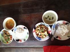 Traditional Thai cooking course at Thai Farm, Chiang Mai, Thailand.