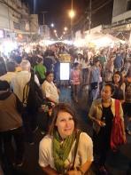Chiang Mai Street Market in Thailand.