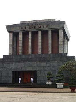 Vietnam. Ho Chi Minh Mausoleum.
