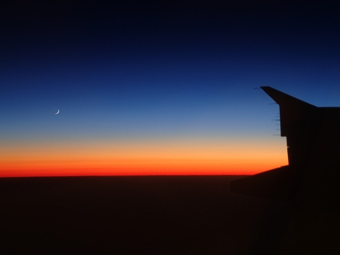 Flight down to McMurdo