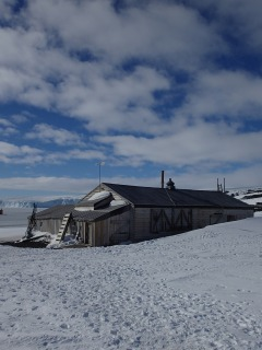 Scott's Hut at Cape Evans.