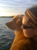 The boat dog.