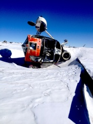 Downed helo on Mt. Erebus