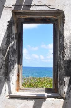 Lighthouse ruins, Bahamas.