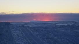 Last sunset, winter. Photo credit: Steve Allinger