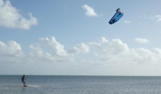 Paraboarding in the Keys.