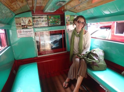 Tuk tuk in Thailand.