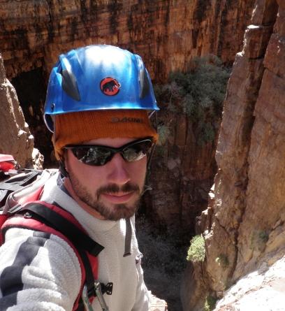Canyoneering Arizona.