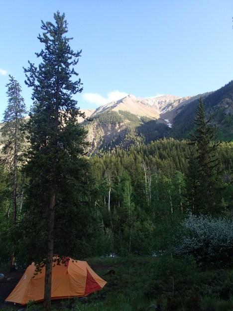 Colorado camping.