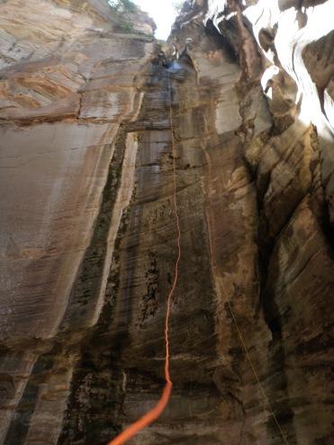 Canyoneering.