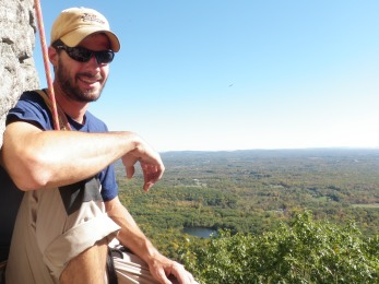 Climbing The Gunks, New York.