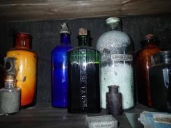 Medicinal supplies in Scott's Hut