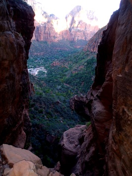 End of a long day canyoneering in Zion, last rap.